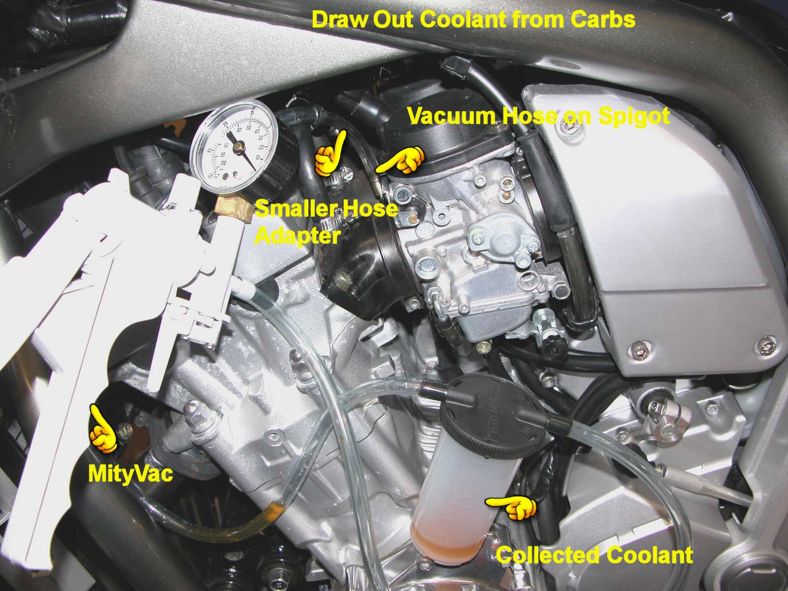 Carburetor Coolant Bypass