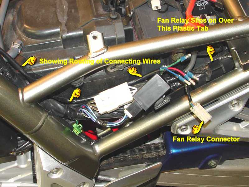 overheating fazer (fzs) 1000 fazer owners club unofficial ls1 fan relay wiring diagram water temperature gauge