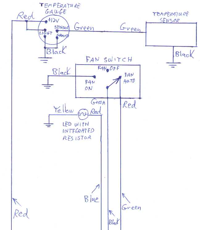 Auto Gauge Wiring Diagram Water Temp - DIY Wiring Diagrams •